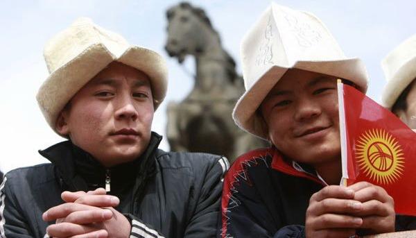 Жители Киргизии